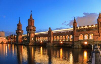 Adesivo Ponte de árvore superior, Berlim, Alemanha