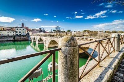 Adesivo Ponte de Tibério em Rimini
