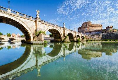 Adesivo Ponte e castelo Sant Angelo, em Roma