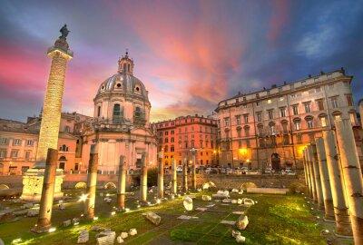 Adesivo Pôr do sol em Roma