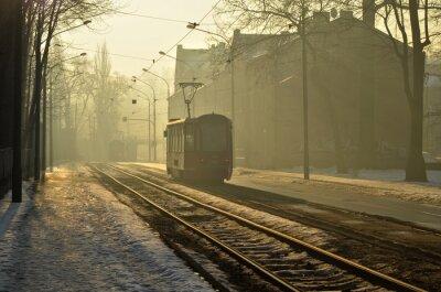 Adesivo Poranny tramwaj