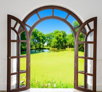 Adesivo Porta do arco lagoa aberta
