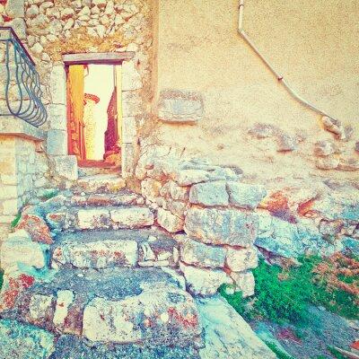 Adesivo Porta na parede