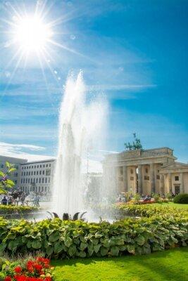 Adesivo Porte de Brandebourg, Portão de Brandenburgo, Brandenburger Tor, Berlim, Alemanha