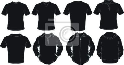 bb0b095d055f0 Preto masculinos camisas modelo laptop adesivos • adesivos para a ...