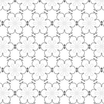 Adesivo Primitive simples cinza padrão sem emenda retro