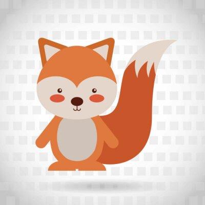 Adesivo Projeto animal dos desenhos animados