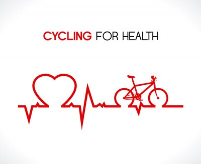 Adesivo Projeto da bicicleta