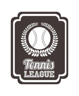 Adesivo Projeto da liga de tênis