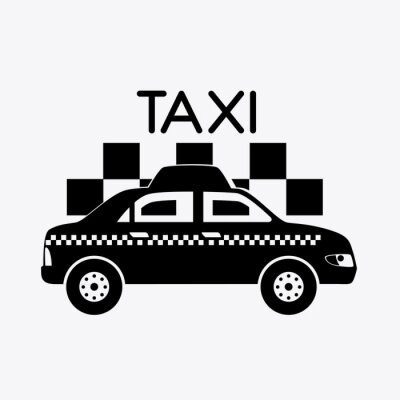 Adesivo Projeto de táxi.
