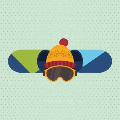 Adesivo Projeto do esporte de inverno