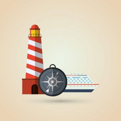 Adesivo Projeto do ícone do curso