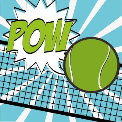 Adesivo Projeto esporte tênis