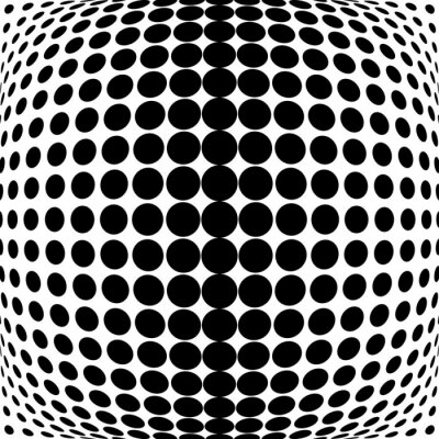 Adesivo Projeto monocromático fundo dos pontos