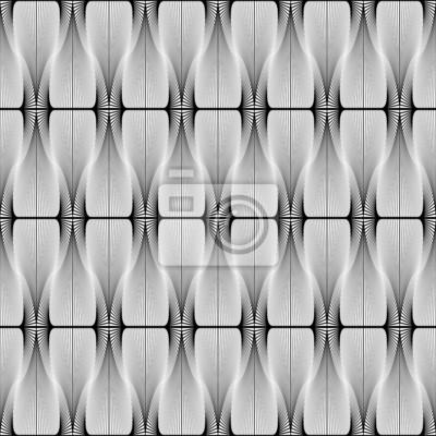 Adesivo Projeto sem emenda do teste padrão geométrico listrado
