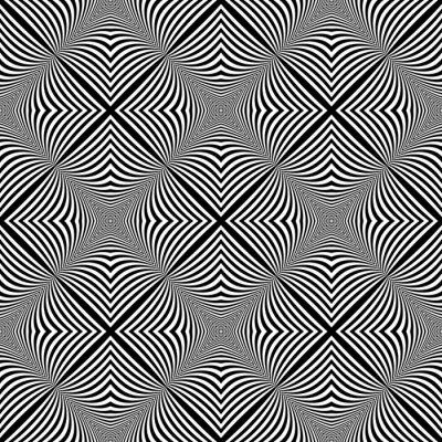 Adesivo Projeto sem emenda monocromático ilusão fundo