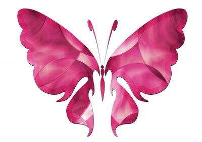 Adesivo Purple Butterfly / Schöner Schmetterling