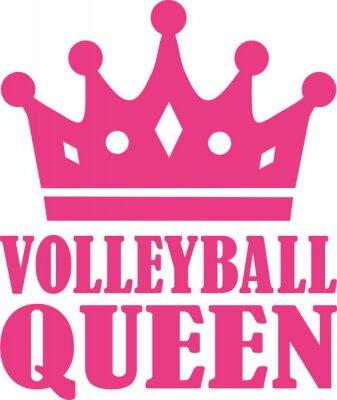 Adesivo Rainha de voleibol