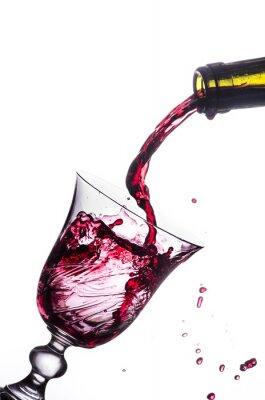Adesivo respingo vinho tinto