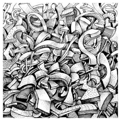 Adesivo Resumo doodles
