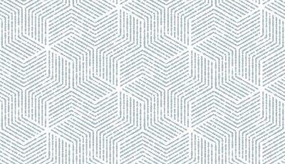 Adesivo Resumo padrão geométrico com listras, linhas. De fundo vector sem emenda. Ornamento de branco e azul. Design gráfico de estrutura simples