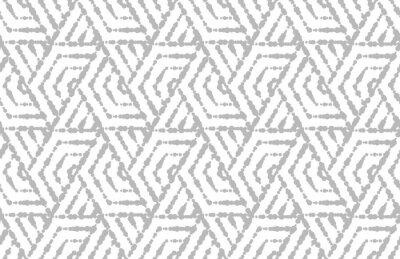 Adesivo Resumo padrão geométrico com listras, linhas. Vetor sem costura de fundo. Ornamento branco e cinza. Projeto gráfico da estrutura simples.