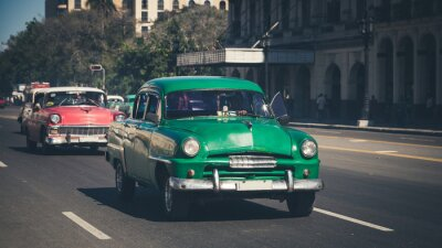 Adesivo Retro: Oldtimer Havanna de <br> Crie Seu Próprio Produto! Kuba
