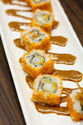 Adesivo Rolos de sushi