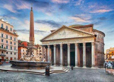 Adesivo Roma - Pantheon, ninguém