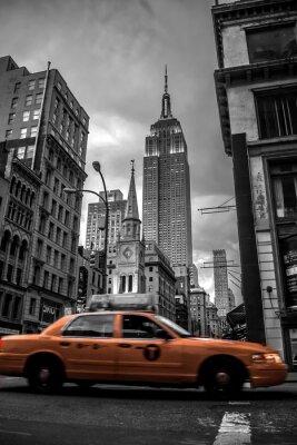 Adesivo Rua New York City na noite
