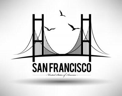 Adesivo San Francisco Ponte