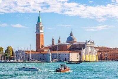 Adesivo San Giorgio ilha em Veneza, Itália