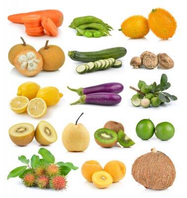 Adesivo Santol, cenouras, ervilhas, cogumelos, abobrinha, macadâmia de limão, coc