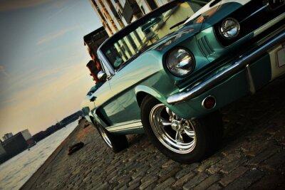 Adesivo Shelby Réplica do Mustang 350 no sol poente