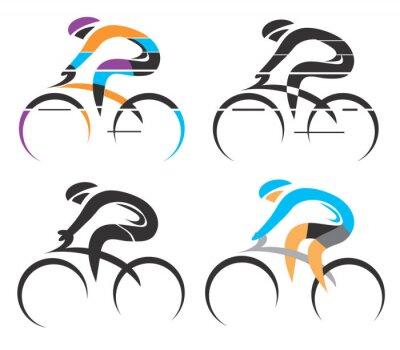 Adesivo Símbolos Ciclismo