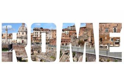 Adesivo sinal de Roma