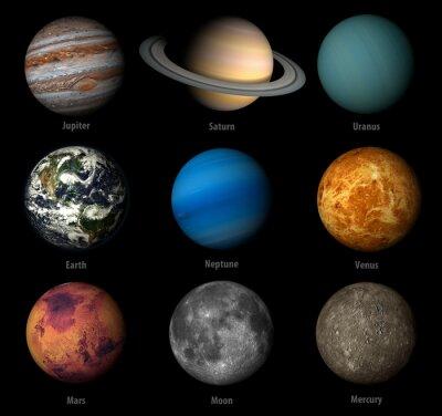 Adesivo sistema solar
