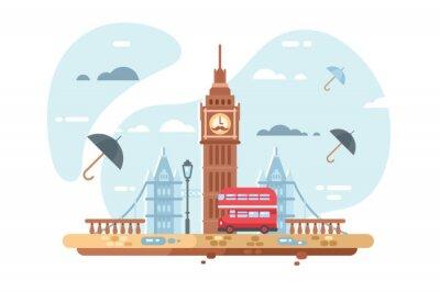 Adesivo Skyline da cidade de Londres