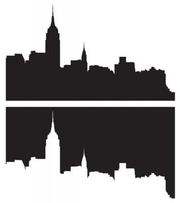 Adesivo Skyline de Nova York