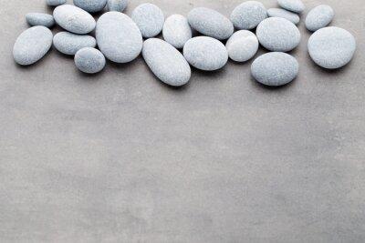 Adesivo Spa pedras tratamento cena, zen como conceitos.