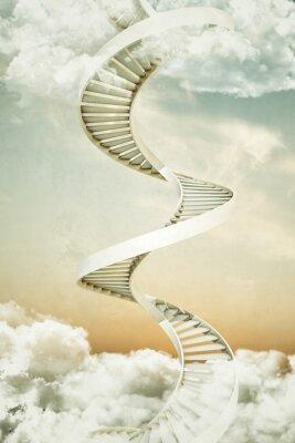 Adesivo spiral staircases