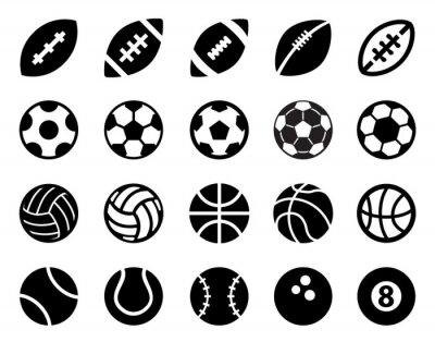 Adesivo Sport Balls