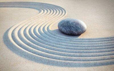 Adesivo Stone e linhas na areia