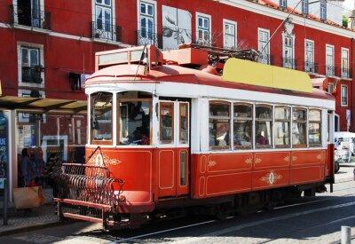 Adesivo Strassenbahn em Lisboa