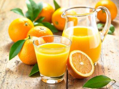 Adesivo Suco de laranja