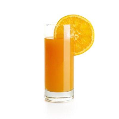 Adesivo Suco de laranja com fatia