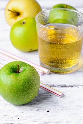 Adesivo Suco de maçã verde