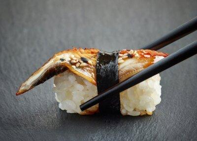 Adesivo sushi de enguia