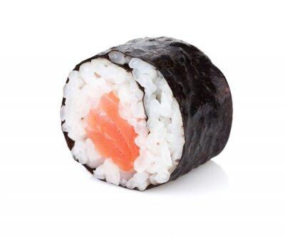 Adesivo Sushi maki com salmões