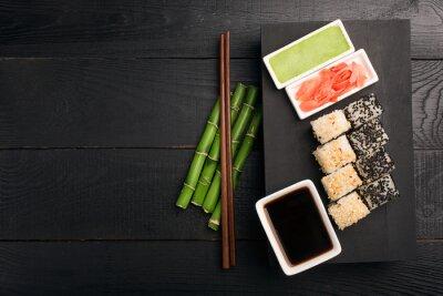 Adesivo Sushi, rolo, peixe